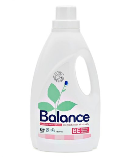 BALANCE audinių minkštiklis su medvilnės ekstraktu (1.5l)