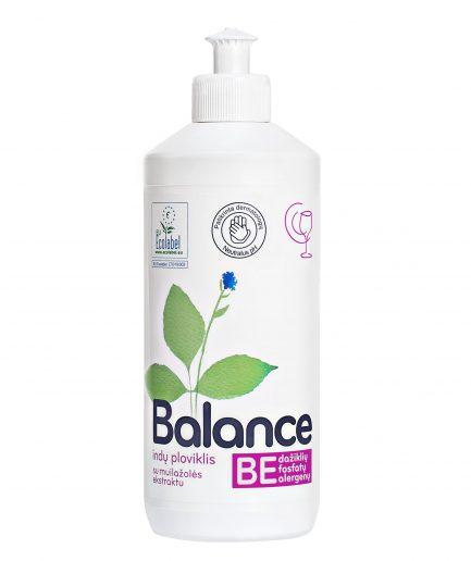 BALANCE ekologiškas indų ploviklis su muilažolės ekstraktu (500ml)