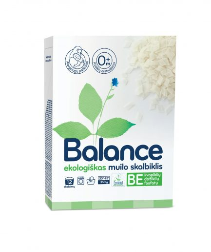 BALANCE ekologiškas muilo skalbiklis, drožlės (350 g)