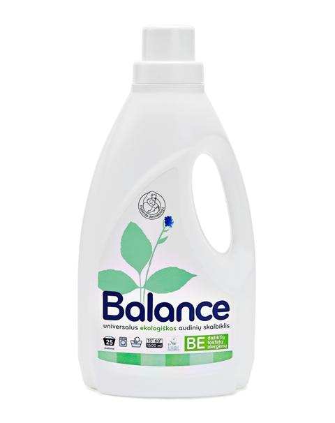 BALANCE ekologiškas universalus audinių skalbiklis (1.5l)