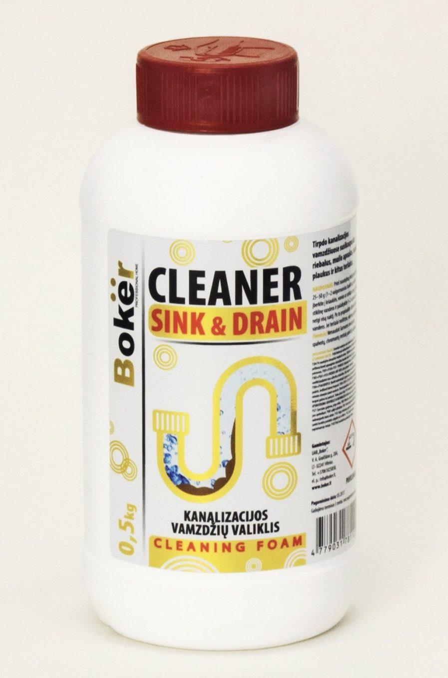 Boker kanalizacijos vamzdžių valiklis(500g)
