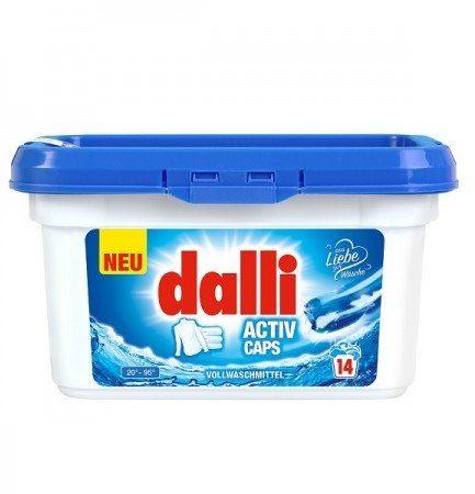 Dalli Activ universalios skalbimo kapsulės