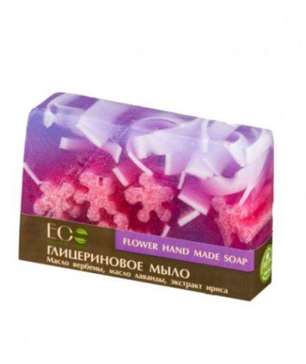 EO Laboratorie glicerininis rankų darbo muilas Gėlių(130g)