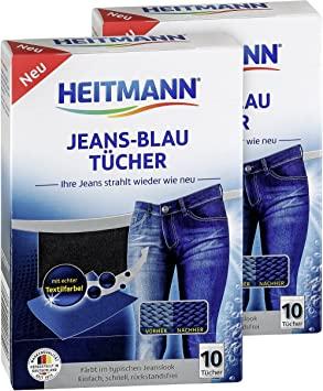 HEITMANN dažomosios skalbinių servetėlės mėlynos