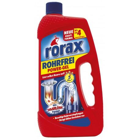 RORAX Power gel nutekamųjų vamzdžių valiklis(1l)