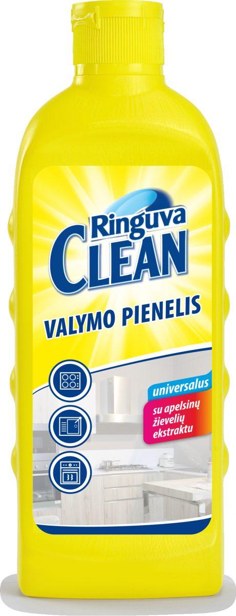 RINGUVA CLEAN universalus valymo pienelis su apelsinų žievelės ekstraktu (250 ml)