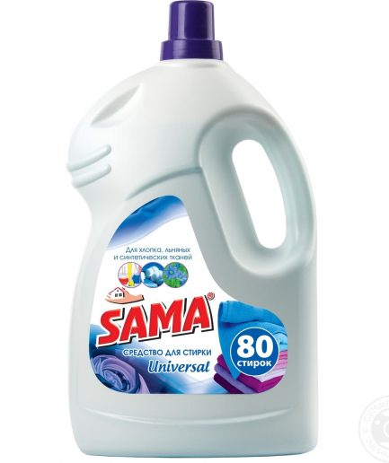 Sama Universal skysta skalbimo priemonė (4l)