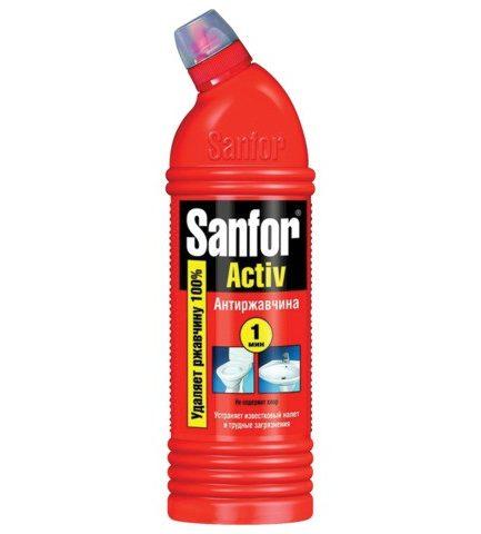 SANFOR Activ Greitai nešvarumų pašalinimui Anti-rūdys(1000ml)