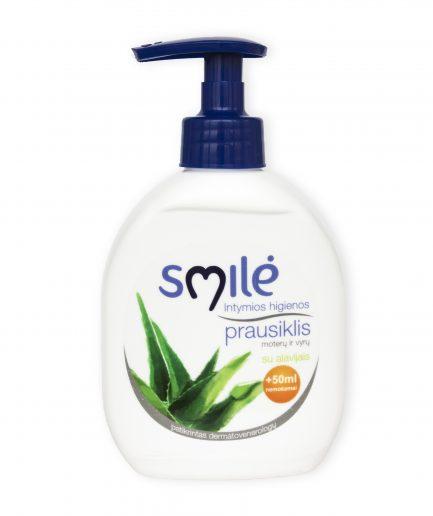 SMILĖ intymios higienos prausiklis su alavijais (300 ml)