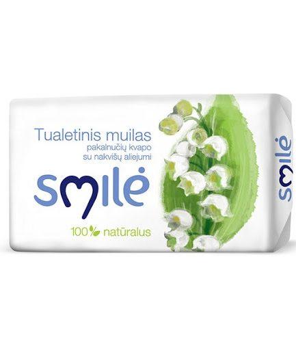 SMILĖ tualetinis muilas pakalnučių kvapo (90g)