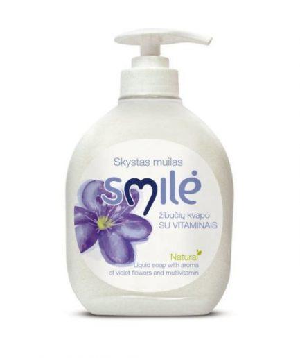 SMILĖ skystas muilas žibučių kvapo (300 ml)