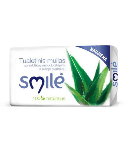 SMILĖ tualetinis muilas alavijų kvapo (90g)