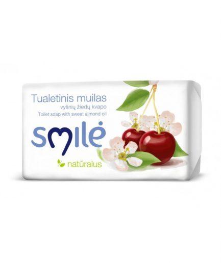 SMILĖ tualetinis muilas vyšnių žiedų kvapo (90g)