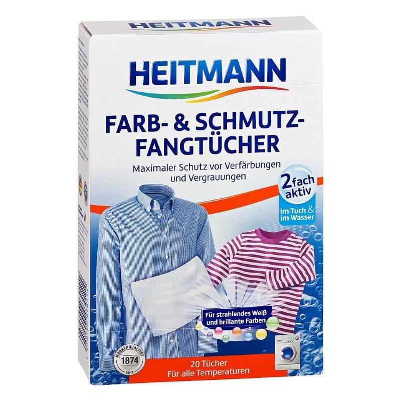 HEITMANN universalios skalbinių servetėlės