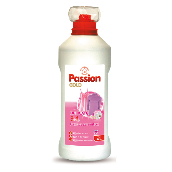 Passion Gold Gel Delicate 2in1 Skalbimo gelis(2l)