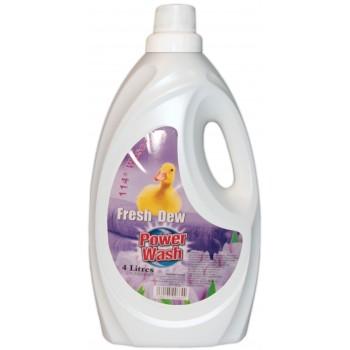 Power Wash Fresh Dew,audinių minkštiklis(4l)