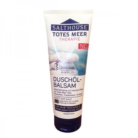 SALTHOUSE Negyvosios jūros terapija dušo balzamas su aliejumi( 200ml)