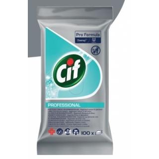 Cif Professional Drėgnos servetėlės paviršiams(100vnt)