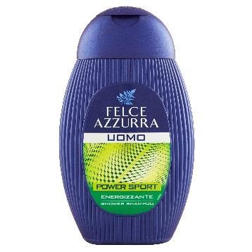 FELCE AZZURRA vyriškas šampūnas dušo gelis Power sport(250ml)