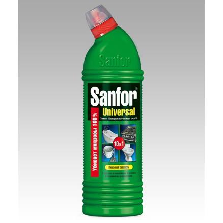 SANFOR Universal Sanitarinė higieninė priemonė citrinos gaiva (750ml)