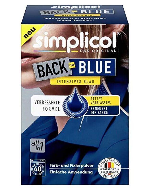 SIMPLICOL spalvos atnaujinimas paryškinimas mėlyna(400g)