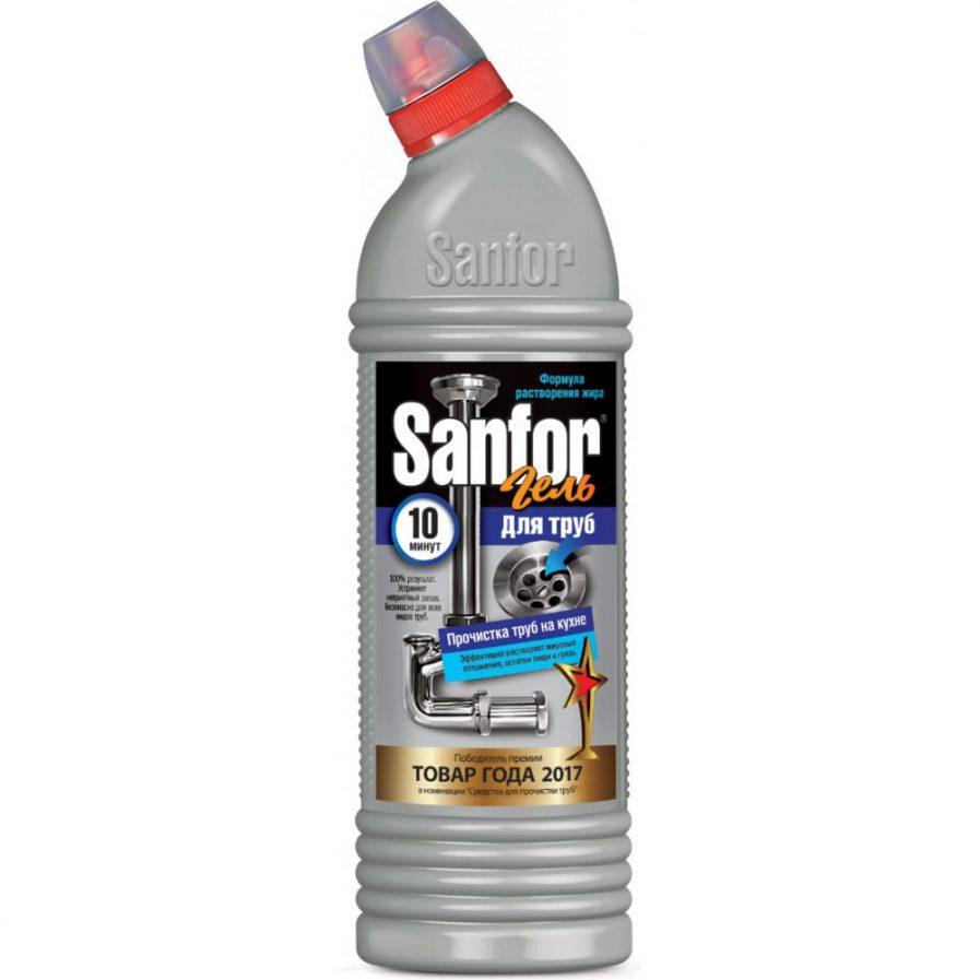 Sanfor priemonė kanalizacijos vamzdžių valymui virtuvėje(750ml)