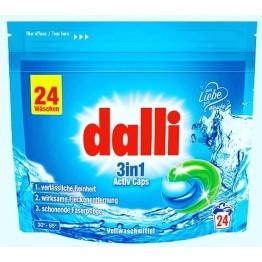 Dalli ACTIV universalios skalbimo kapsulės 3in1(24 vnt)