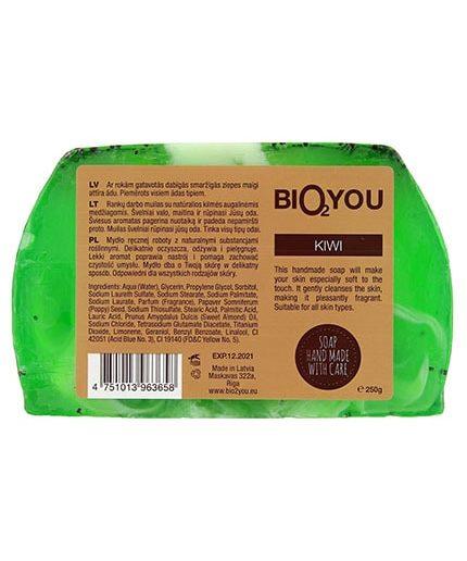 Bio2You natūralus rankų darbo muilas kivi(250g)