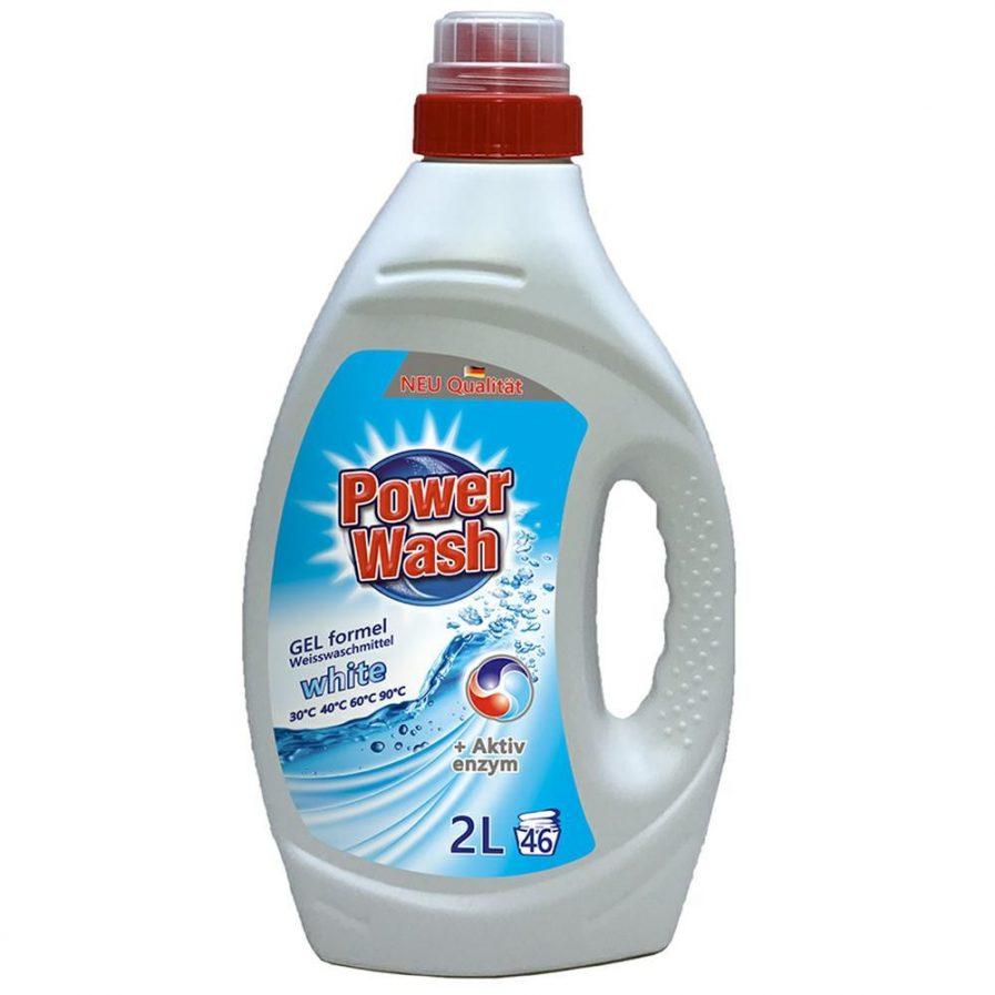 Power Wash skalbimo gelis baltiems audiniams(2l)