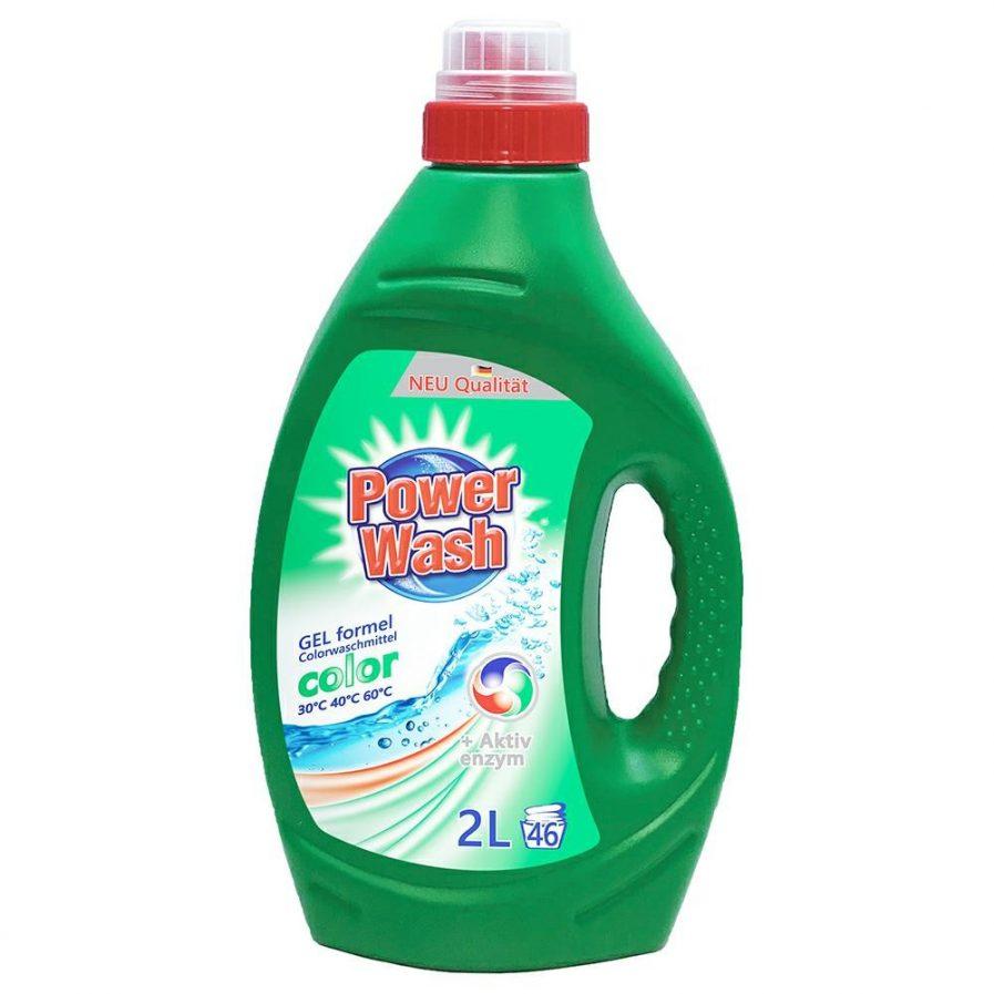 Power Wash skalbimo gelis spalvotiems audiniams(2l)