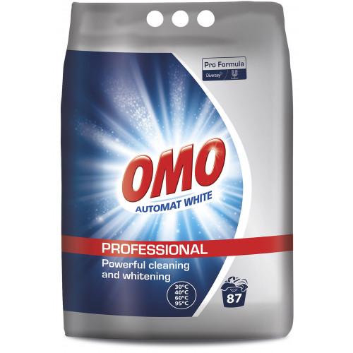 OMO Professional skalbimo milteliai baltiems audiniams(7kg)