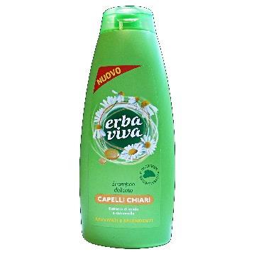 ERBA VIVA šampūnas su medumi ir ramunėlių ekstraktu(500ml)