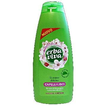 ERBA VIVA šampūnas su gudobelių ekstraktu ir šilko baltymais(500ml)
